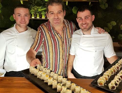 La nueva barra de Sushi de La Moraga de Puerto Banús, máxima calidad al mejor precio