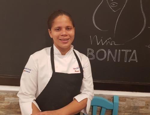 La Chef Reyna Traverso Hackshaw hace realidad el sueño de Niña Bonita