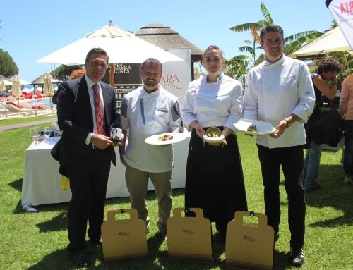 Así fue la Experiencia 3 Generaciones de Bodegas Lara con los Chefs Enrique Alcaide, Sandra Romero y Txema Palacio en Marbella All Stars 2018